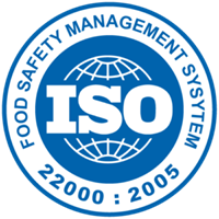 ISO-22000 certificated