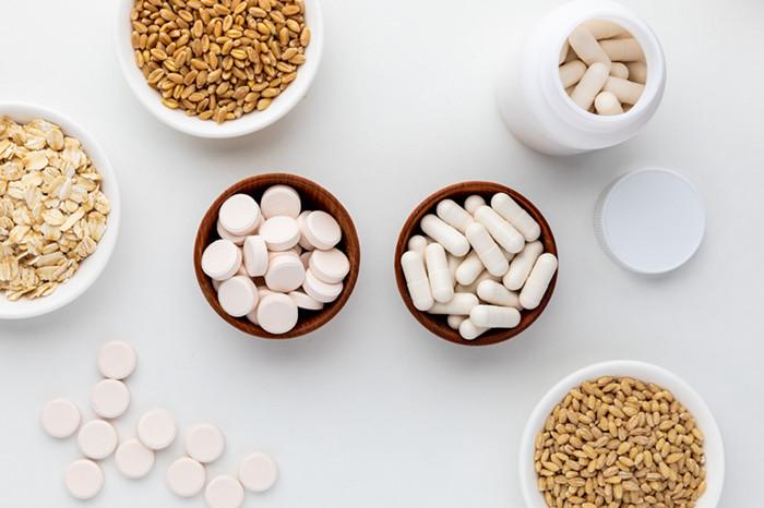 yeast beta glucans supplement